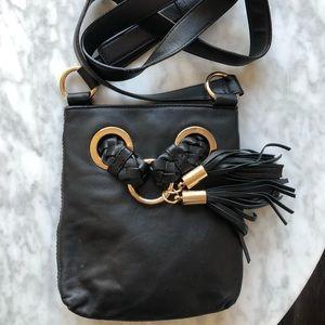 MICHAEL KORS Black Cross-body Bag - long strap